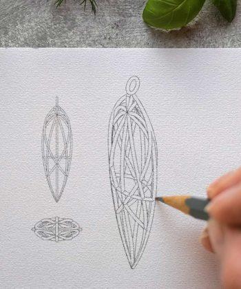 Custom Design Jewelry - Sacred Geometry