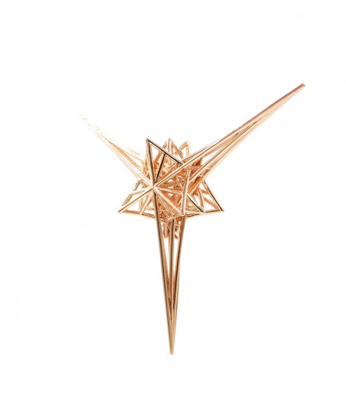 Angelic Star - 14K Rose Gold