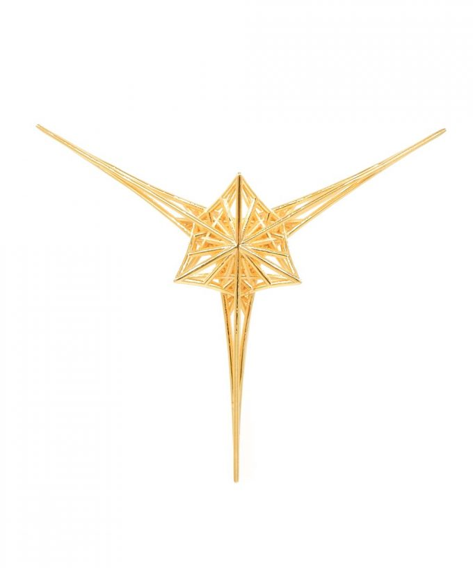 Angelic Star - 18K Gold Plated Brass