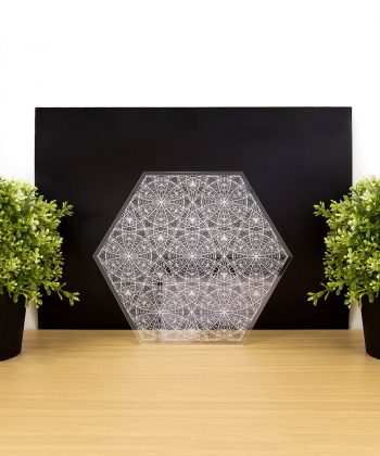 Angelic Flower of Life Crystal Grid