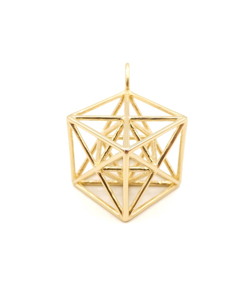 Metatron's Cube 14K Gold