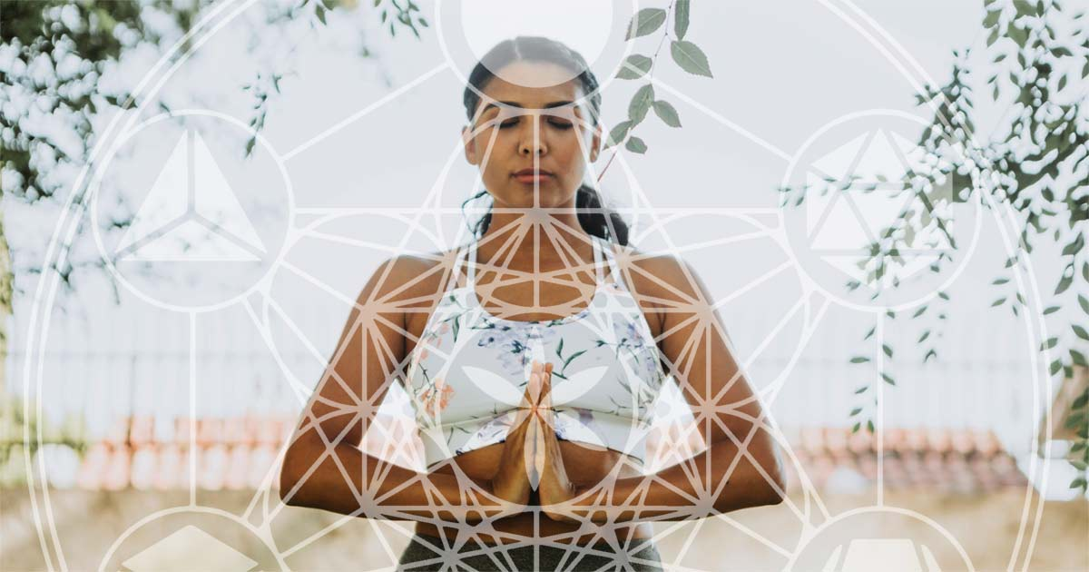 Cleanse your Chakras with Sacred Geometry