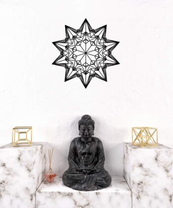 Divine Love Star Wall Decal II