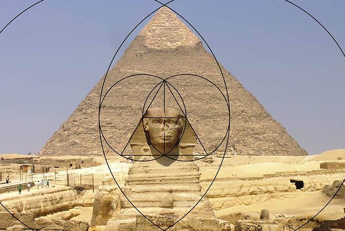 Pyramids of Giza Vesica Piscis