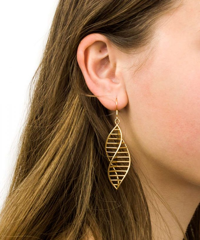Triple DNA Earrings - 12 Strand DNA