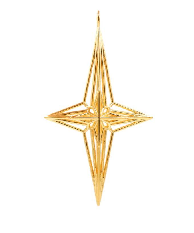 Soul Star Pendant - 18K Gold Plated Brass