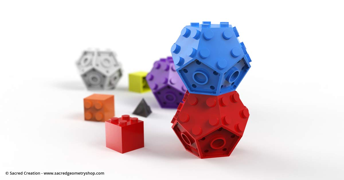 Platonic Solids as Building Blocks