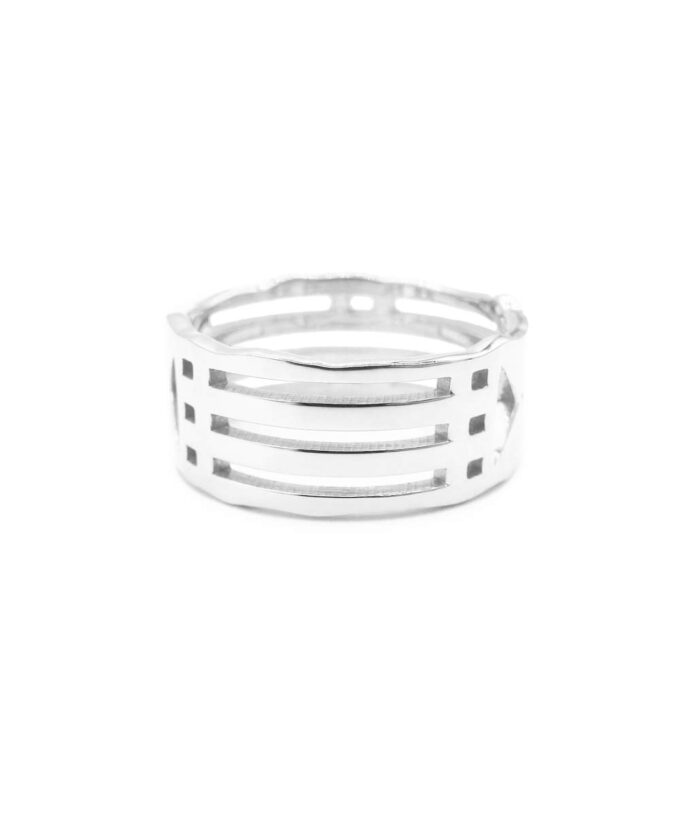 Atlantis Ring - Hollow - Sterling Silver