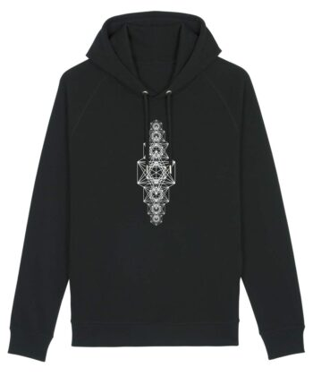 Metatron's Chakra Unisex Hoodie Black