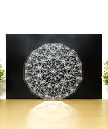 Crystal Grid - Co-Creation Lotus - 24cm